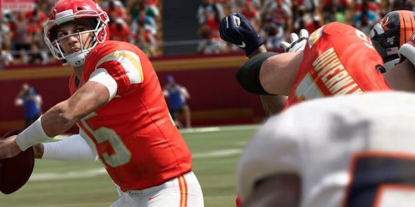 madden 20 cover athlete patrick mahomes photoshoot in chiefs the franchise video