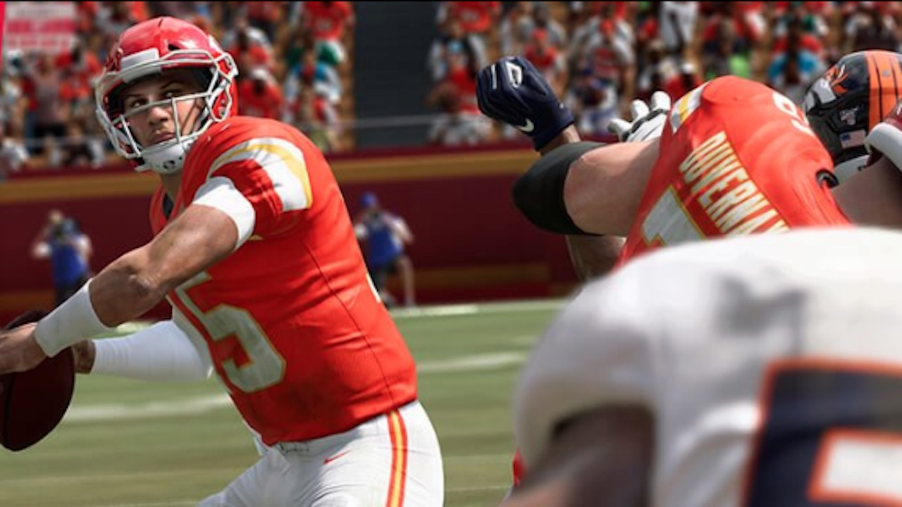 Madden 20 Cover Athlete Patrick Mahomes Featured In