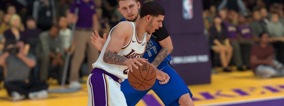 Nba 2k19 Generation Next Packs Lakers Lonzo Ball Mavs