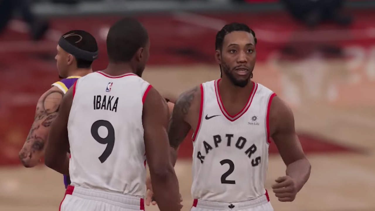 new product 48038 1c5e8 NBA Live 19 Update: Kawhi Leonard Moves Past Other All-Star ...