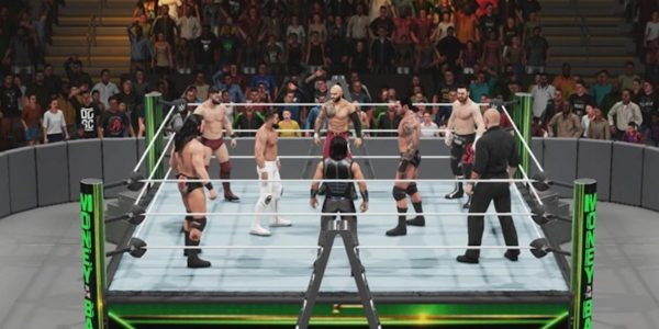 wwe 2k19 mitb simulation mens money in the bank 2019 ladder match
