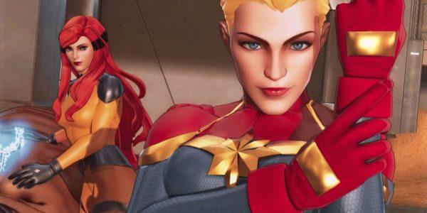 Captain Marvel Cover Ultimate Alliance 3