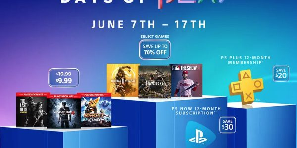 The 2019 Sony Days of Play sale is live now, with discounts up to 70%.