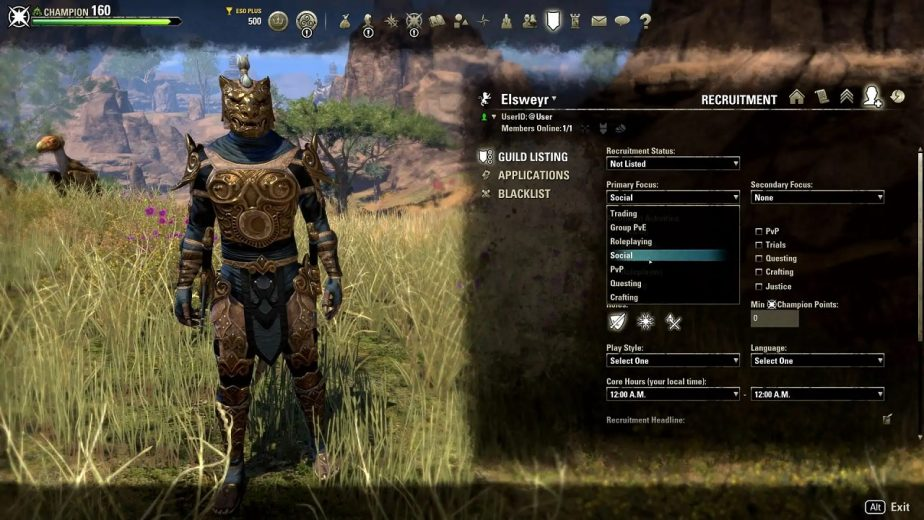 The Latest Elder Scrolls: Online Update Adds New Guild Tools