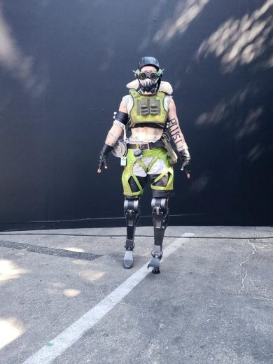 Double Amputee Cosplayer Brought Octane to Life at EA Play