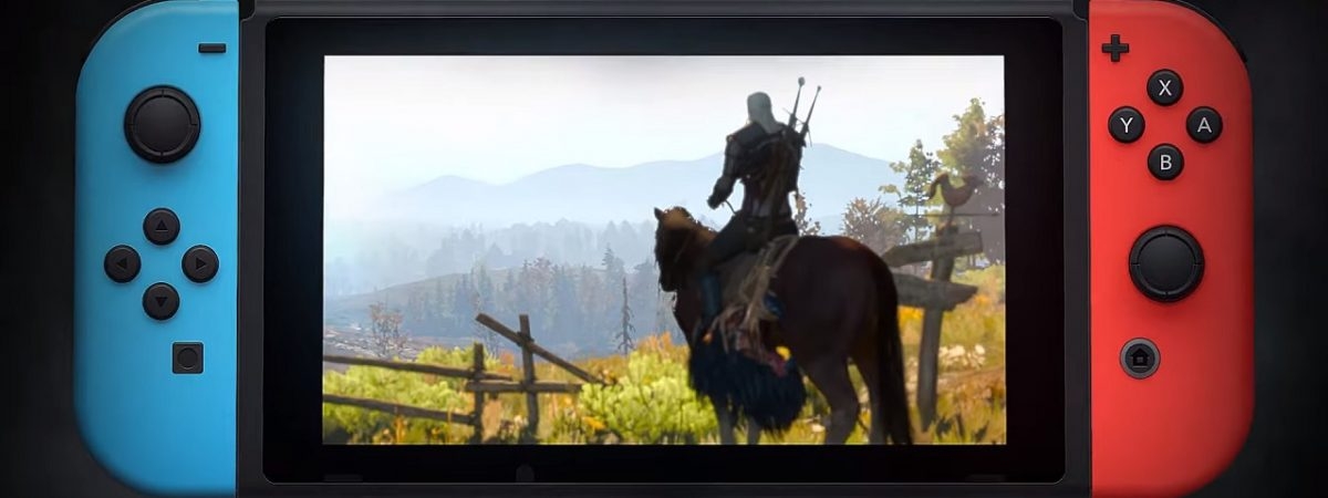 Witcher 3 Wild Hunt Nintendo Switch Port Trailer