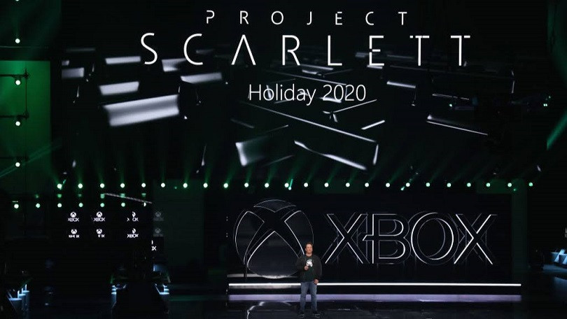 Scarlett will have a disk drive to play physical games.