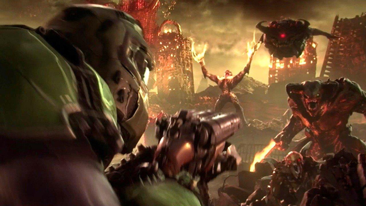 Doom Eternal Developers Admit Doom's Multiplayer Just Didn't Work