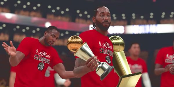 nba 2k19 highlight video playoffs moments cards for toronto raptors nba championship