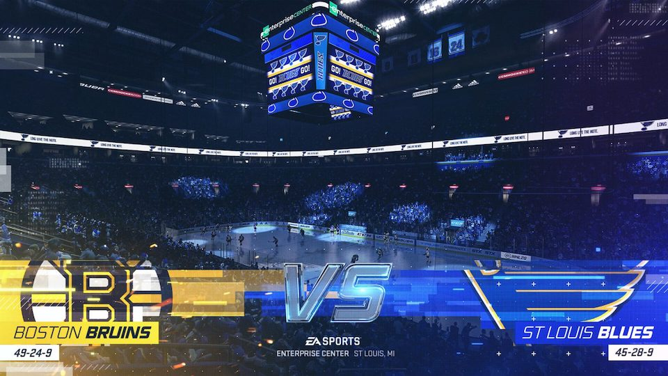 NHL 20 broadcast graphics presentation preview