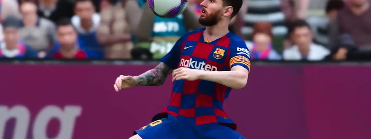 pro evolution soccer pes 2020 release date trailer cover athlete