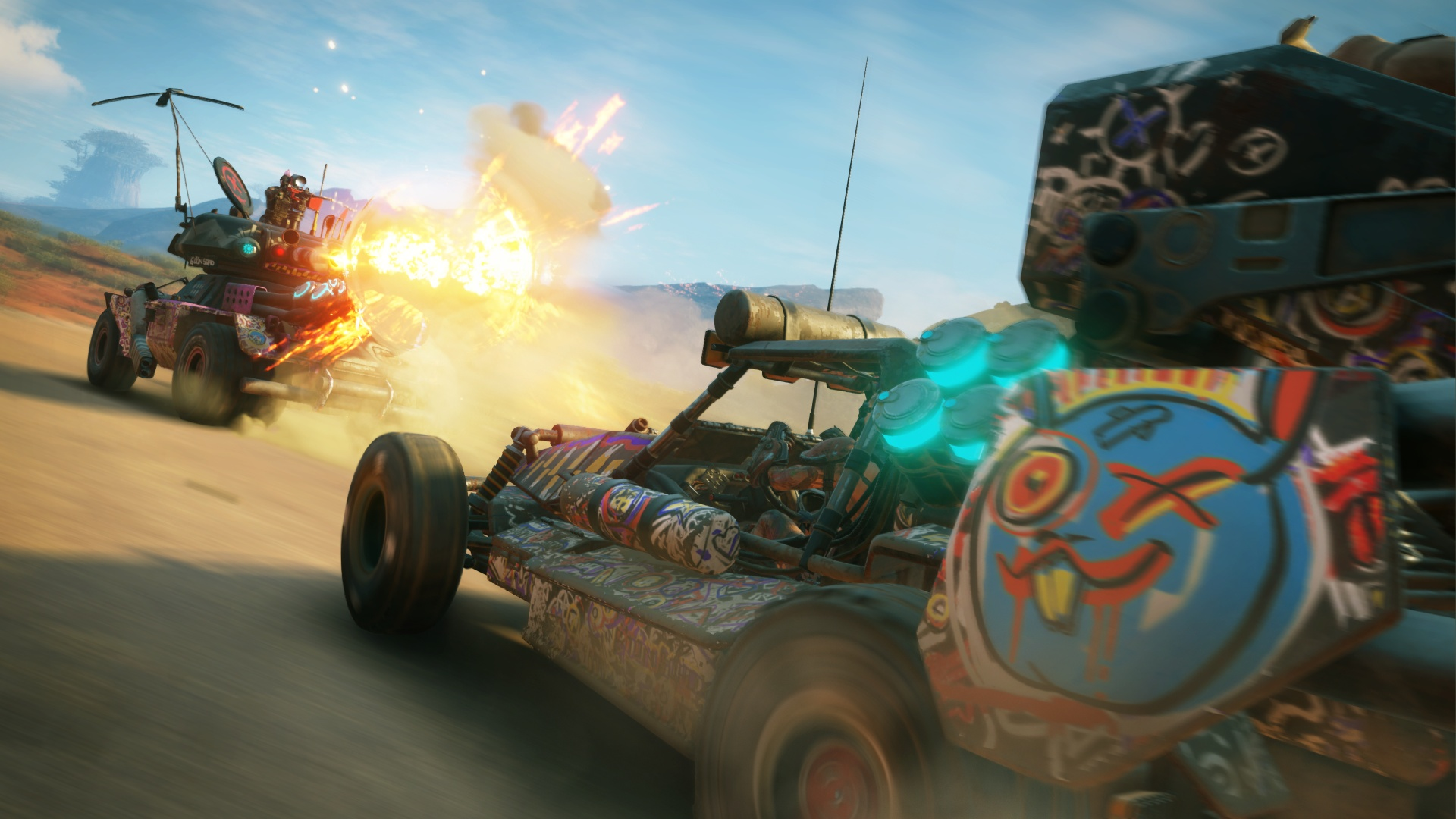 Rage 2 E3 Trailer Shows Off Upcoming Weekly Content Drops