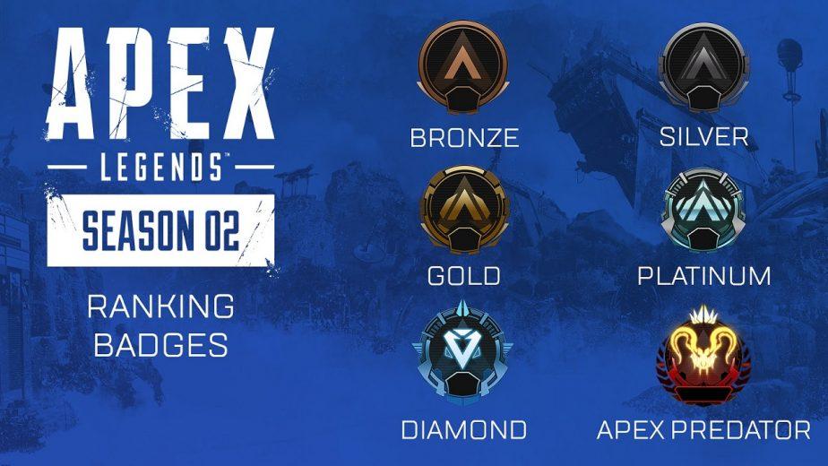 Apex Legends Ranked Leagues Tier Badges
