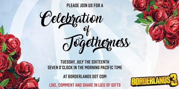 Borderlands 3 Teaser Celebration of Togetherness