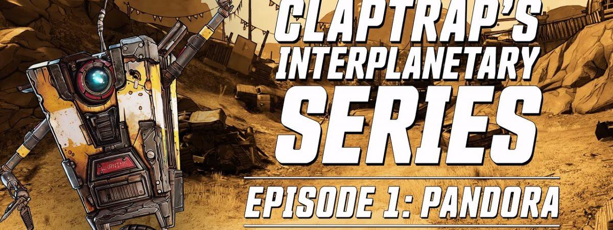 Borderlands 3 Trailer Pandora Claptrap