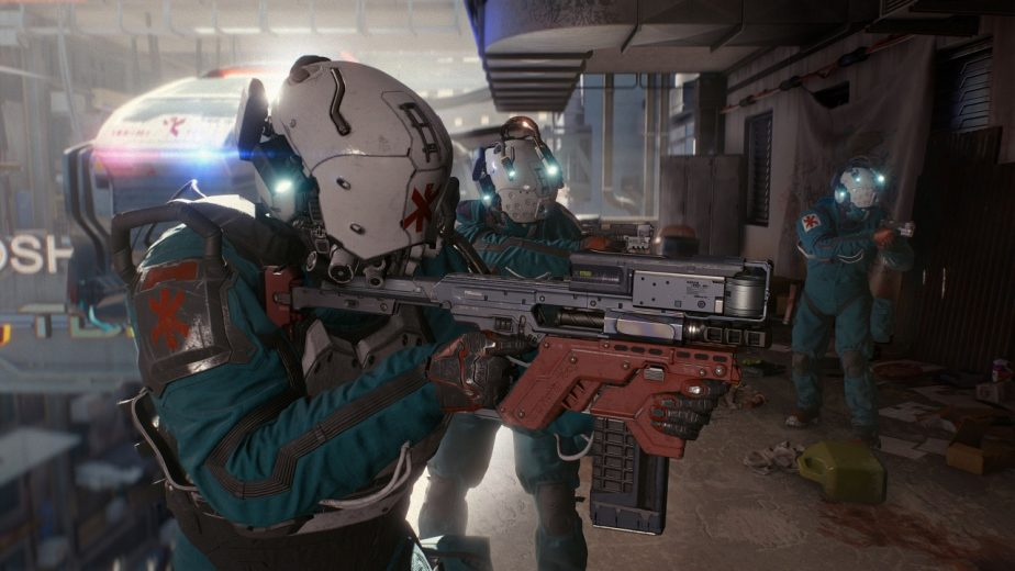 Cyberpunk 2077 Police Force Trauma Team 2