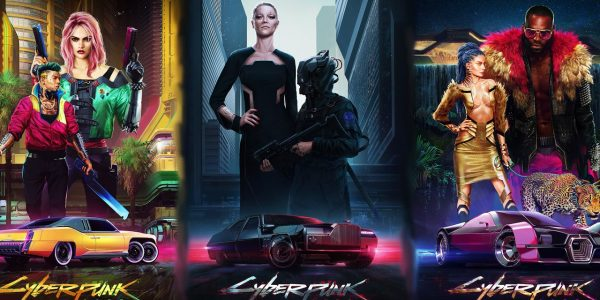 Cyberpunk 2077 Posters Available in CD Projekt Red Store 2