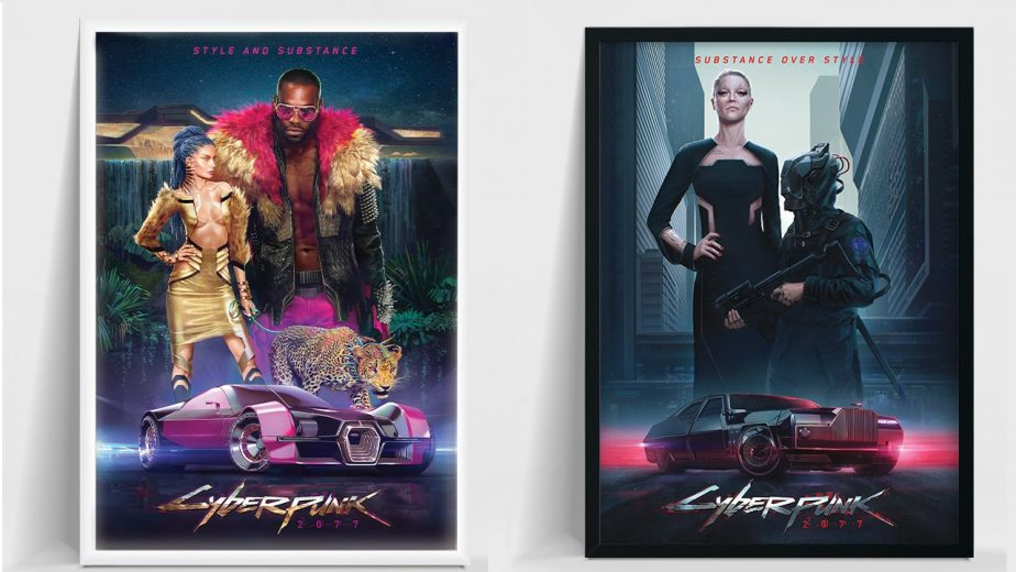 Cyberpunk 2077 Posters Available in CD Projekt Red Store