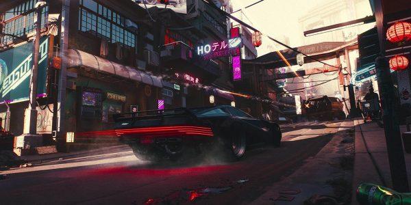 Cyberpunk 2077 Street Racing Confirmed