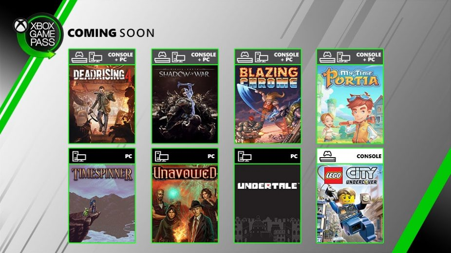 8 Games Are Coming to Xbox Game Pass