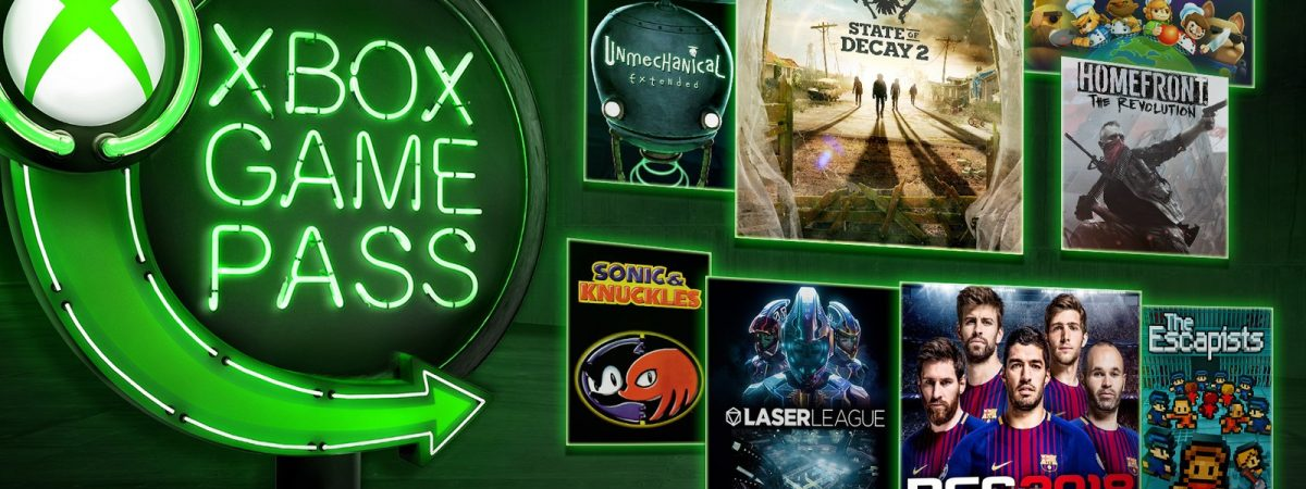 Xbox Game Pass new games are here.