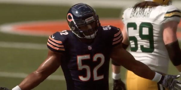 chicago bears khalil mack joins madden 20 players 99 club