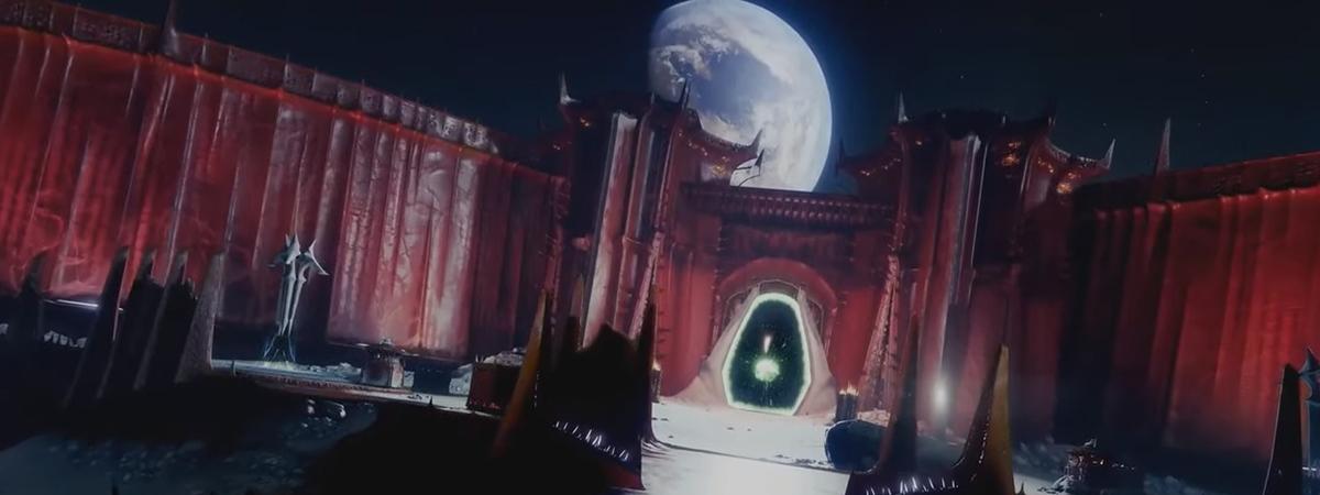 Destiny 2 Shadowkeep Moon Location