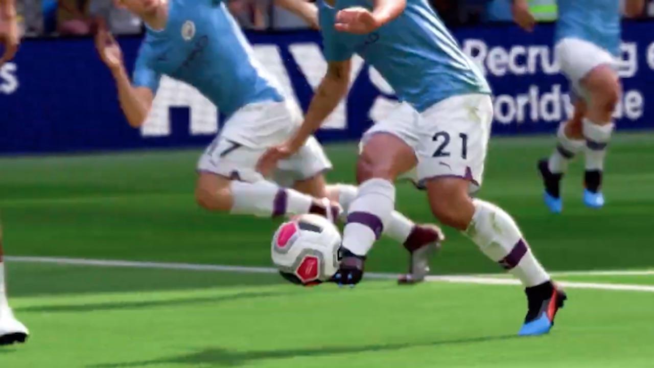 FIFA 20 Ball Physics