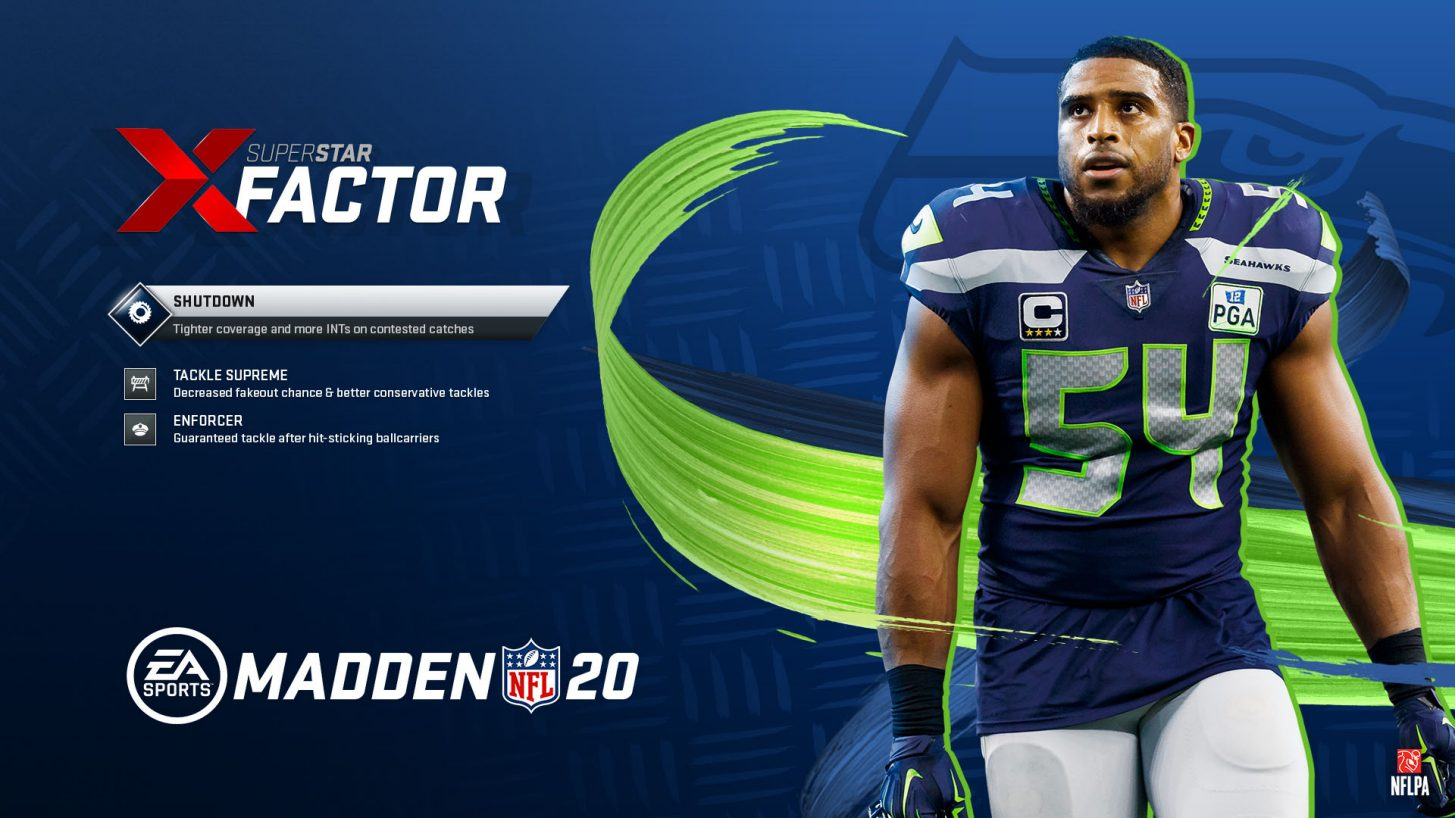 madden 20 player card for 99 club member bobby wagner