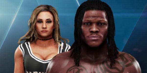 WWE SmackDown Stars R-Truth, Carmella Battle Grizz Gaming GM in 2K19