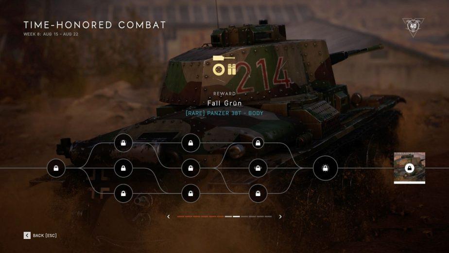 "How to Unlock the Panzer 38t ""Fall Grün"" Skin in Battlefield 5"