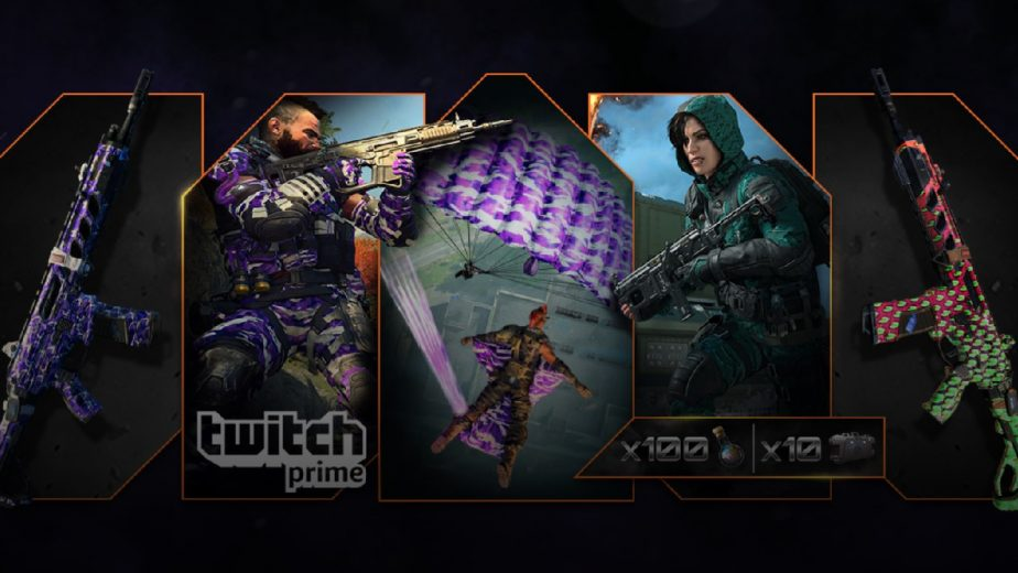 The Final Free Call of Duty: Black Ops 4 Twitch Prime Drop is Available