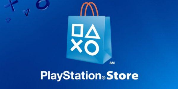 PlayStation Store logo.