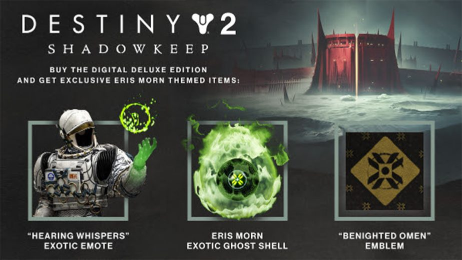 Destiny 2: Shadowkeep Deluxe Edition Comes with a Sick-Looking Ghost