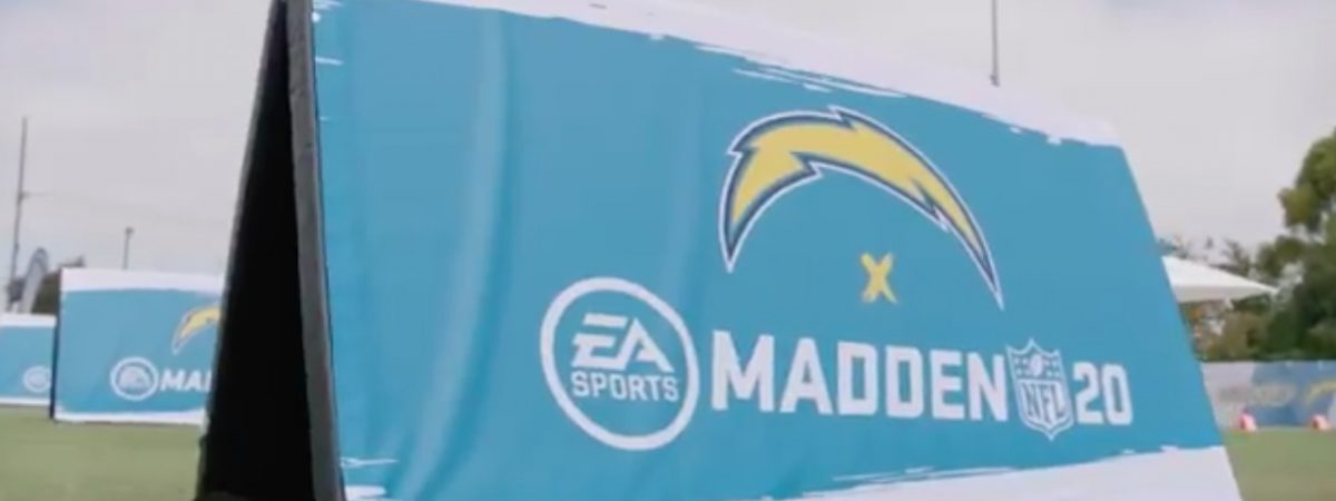 los angeles chargers hold madden 20 ratings event 2004 michael vick celebrated