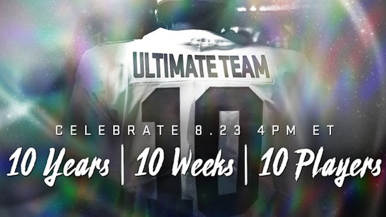 Madden Ultimate Team 20 Reveals First MUT 10 Player Card