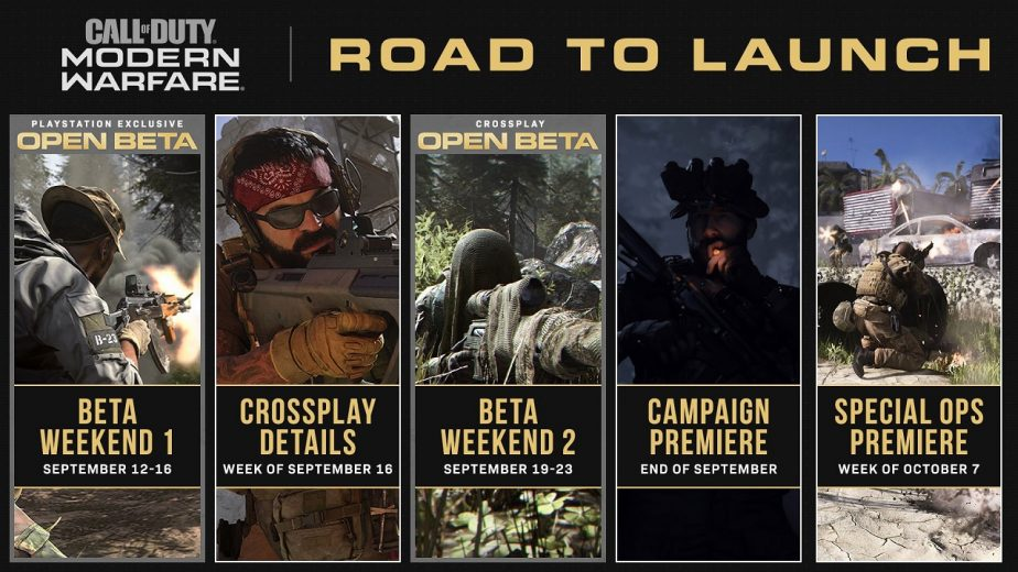 Call of Duty Modern Warfare Campaign Premiere Road to Launch