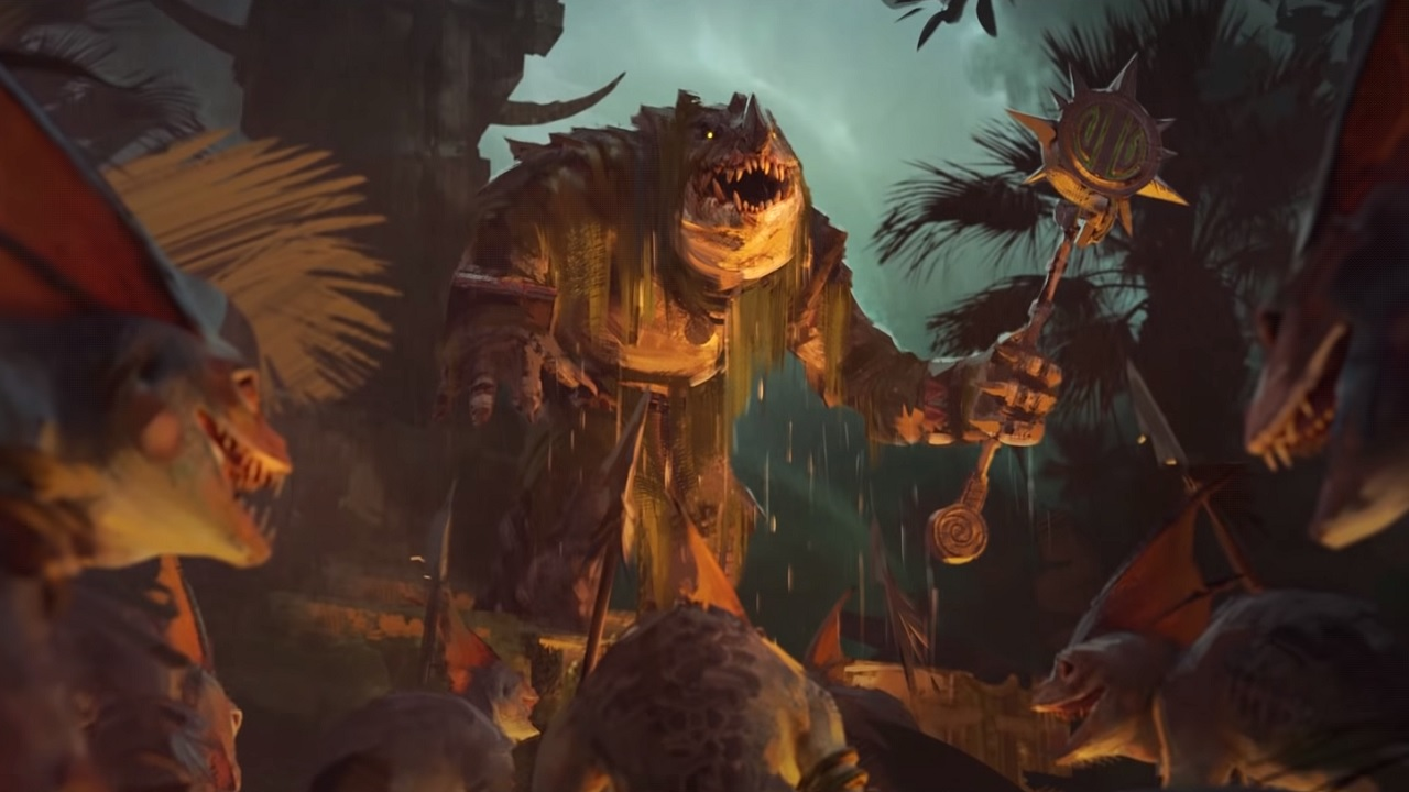 The Hunter And The Beast Dlc Launches For Total War Warhammer 2 Is he the eldest of the kroxigor ancients or the murderous spirit of the deepest jungle made flesh? the hunter and the beast dlc launches