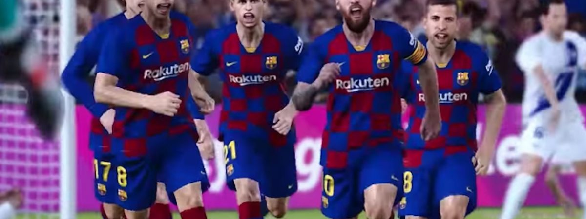 eFootball PES 2020 Global Launch Trailer features lionel messi scott mctominay