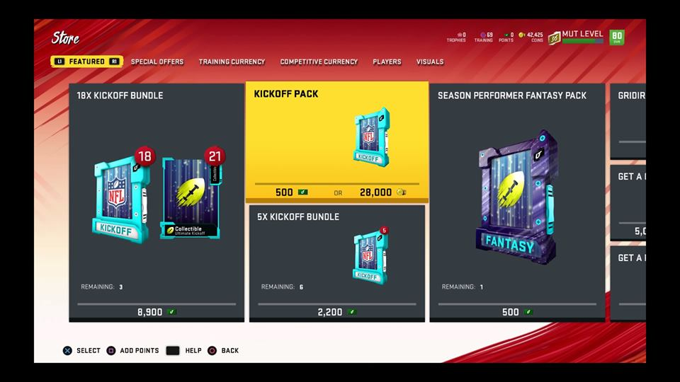 madden 20 store update new packs and bundles
