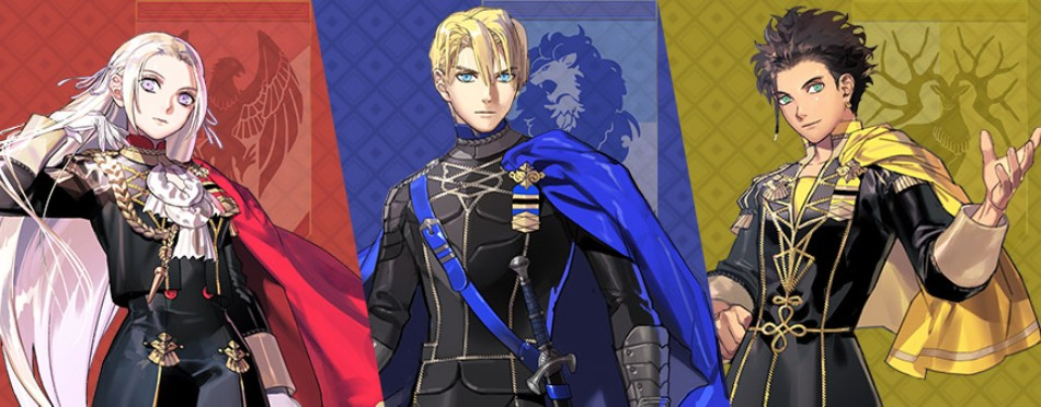 the three houses represented