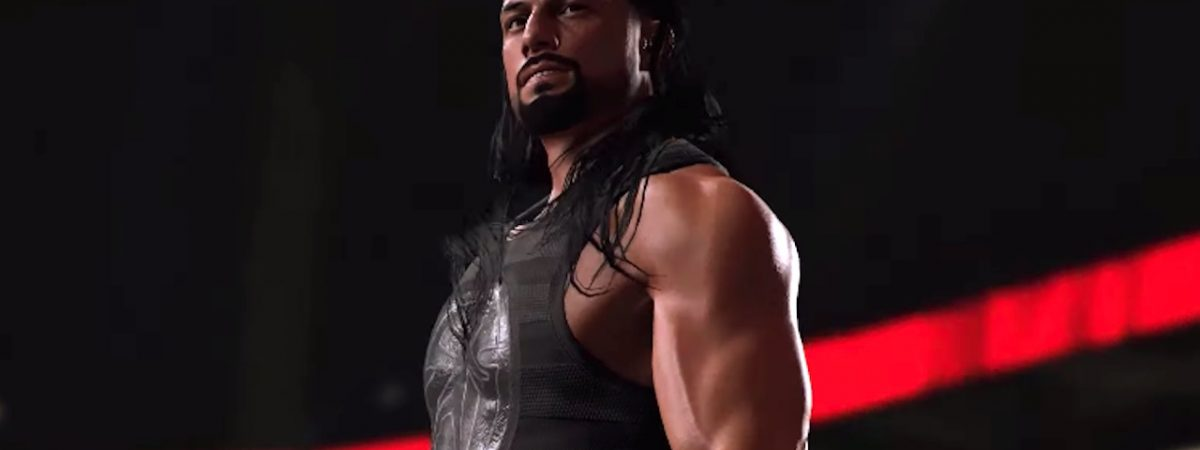 wwe 2k20 legends behind the scenes pics and new roman reigns campaign announced