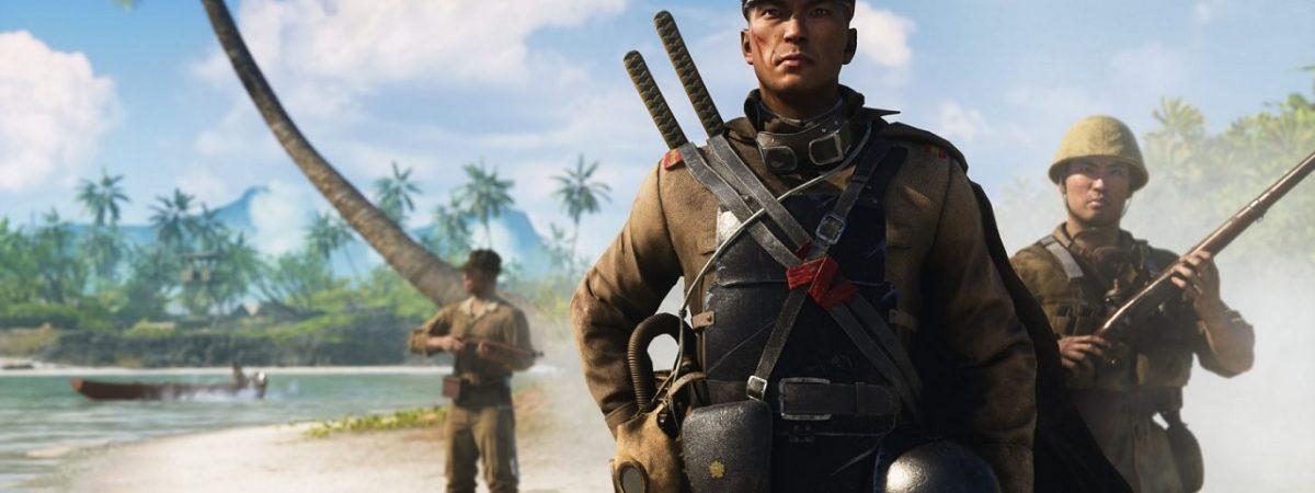 Battlefield 5 Elites War in the Pacific Keisuke Nakamura