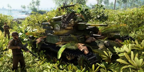 Battlefield 5 War in the Pacific Vehicles Reinforcements