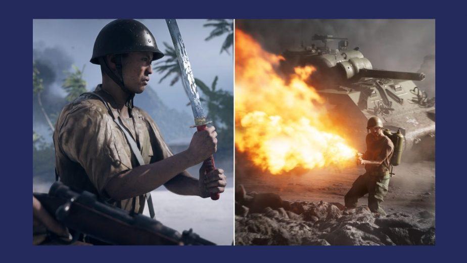 Battlefield 5 War in the Pacific Weapons Battle Pickups