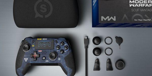Call of Duty Modern Warfare PS4 Controller SCUF Vantage 2