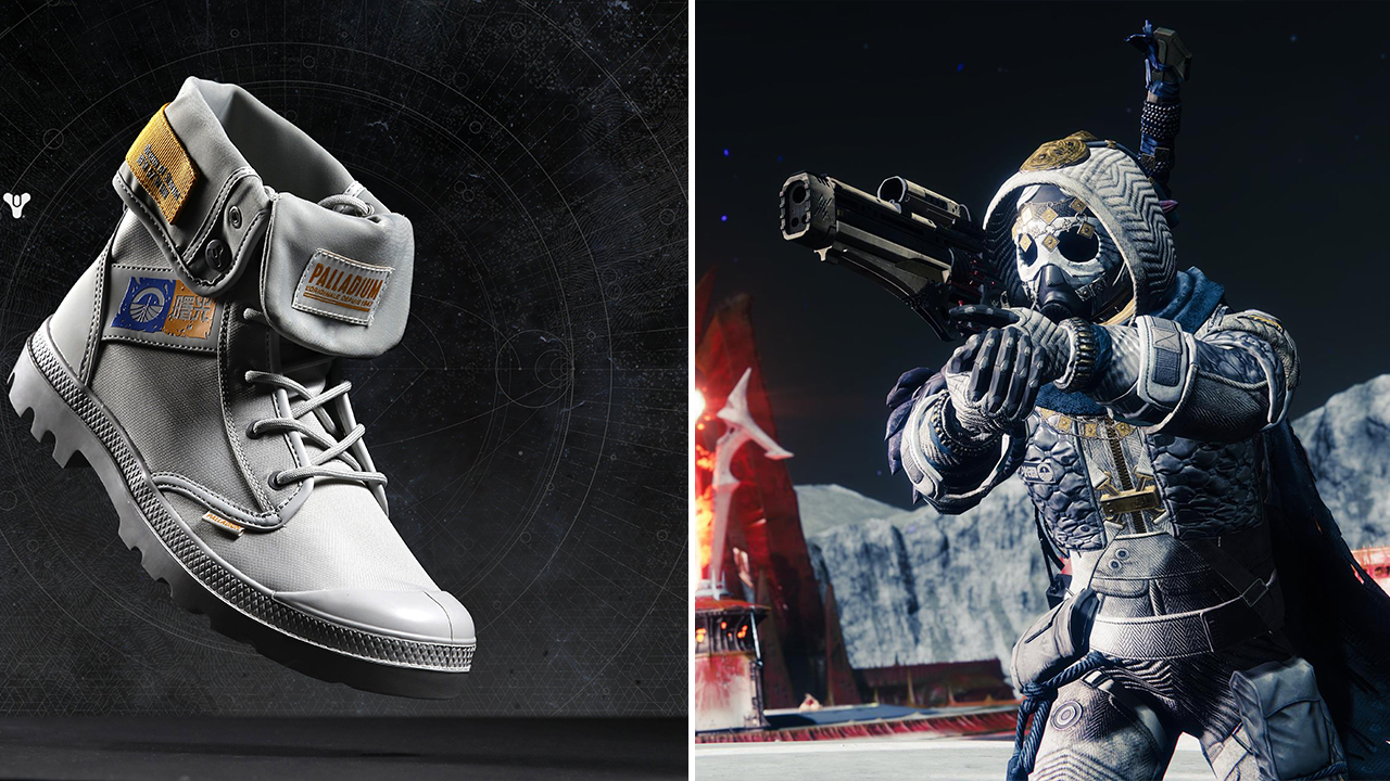 Official Destiny Palladium boots are on the way | GamesRadar+