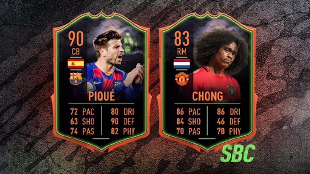 fifa 20 ultimate scream sbcs for pique and chong