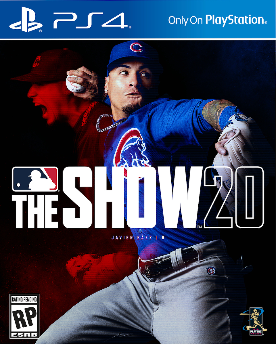mlb the show 20 cover featuring javier baez