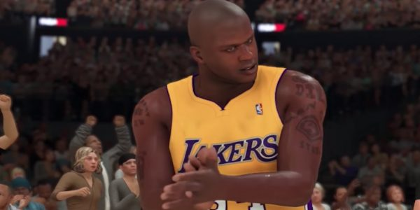 nba 2k20 myteam shaquille oneal gives starting five to nba 2ktv